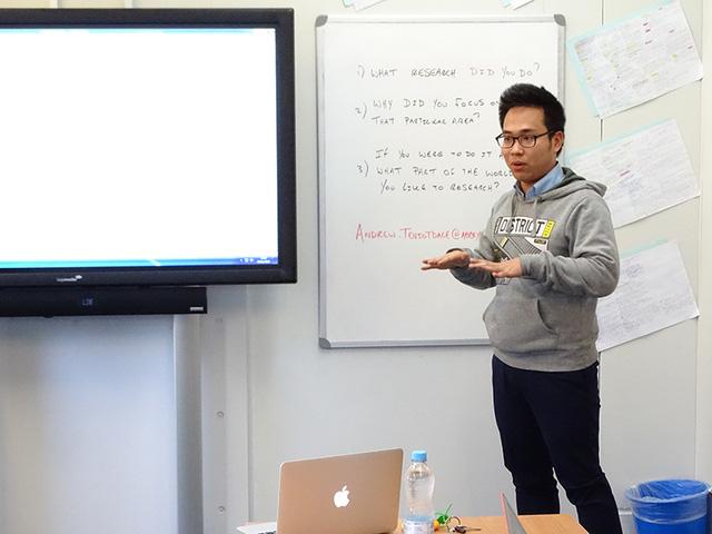 Khám phá ứng dụng luyện thi Ielts từ phát minh của chàng trai trẻ Hà thành
